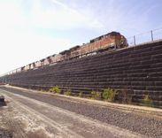 Non Vegetated Rail Line